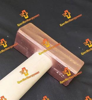 Молоток медный  025кг 0.5кг 0.8кг 1кг 1.5кг 1,8кг  2кг деревянной ручкой